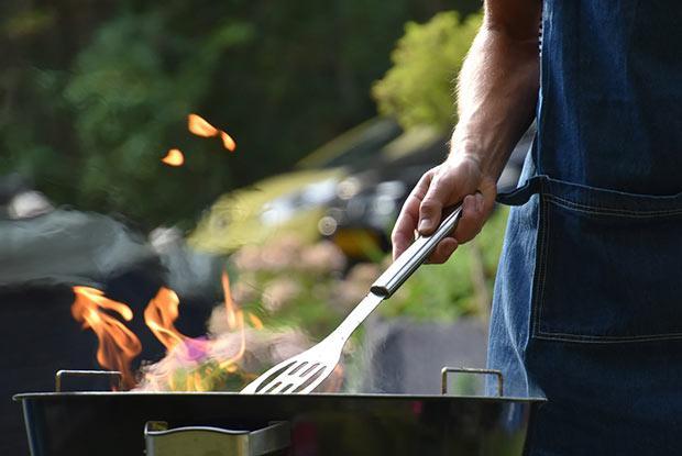 Barbecue at the Jardin botanique restaurant