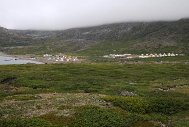 Camp de base du Parc national des Monts-Torngat