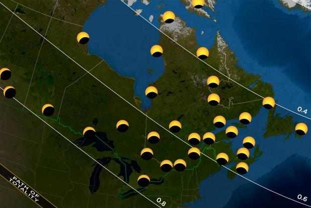 20170821 eclipse map Quebec Canada