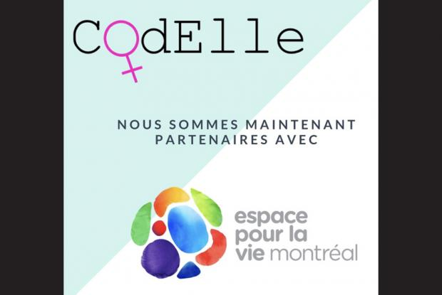 Programming sessions for girls aged 12 and over and women with the Codelle Association at the Planétarium