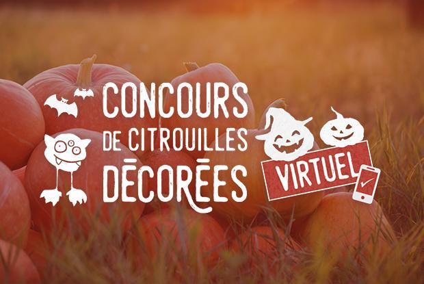 Concours virttuel de citrouilles décorées