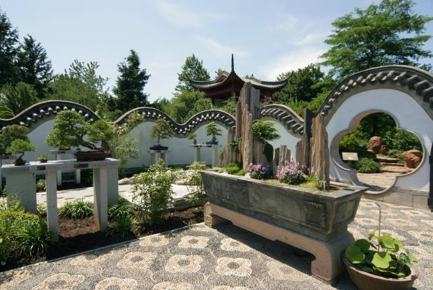 Architecture du jardin de chine espace pour la vie for Jardin chinois miniature