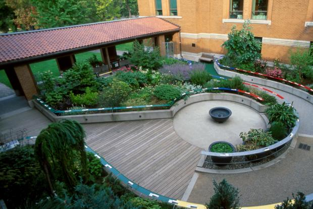 Courtyard of the Senses.
