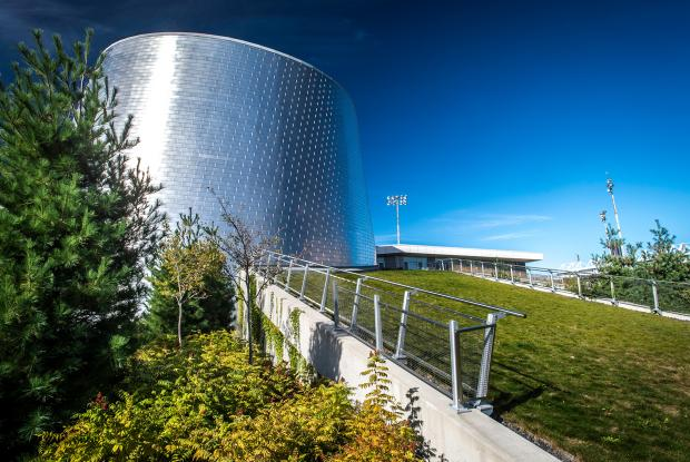 Rio Tinto Alcan Planetarium - Green roof
