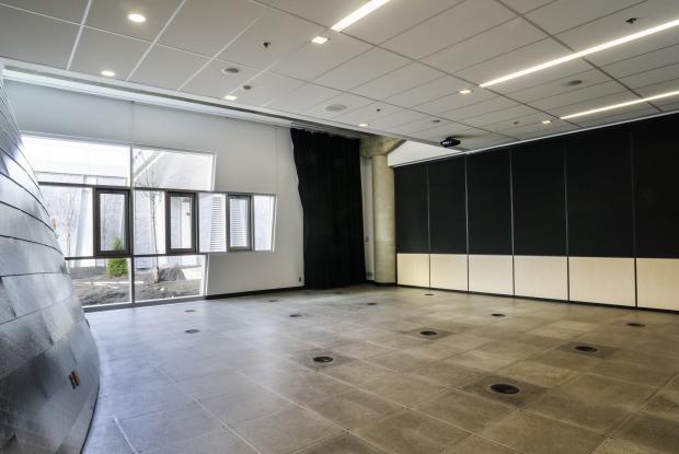 Salle d'animation au Planétarium Rio Tinto Alcan