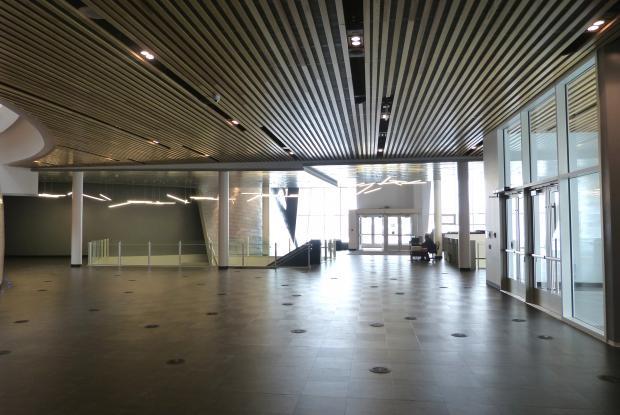 Hall d'accueil du Plantétarium Rio Tinto Alcan