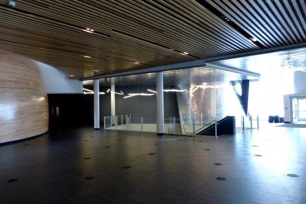 Hall d'accueil du Planétarium Rio Tinto Alcan