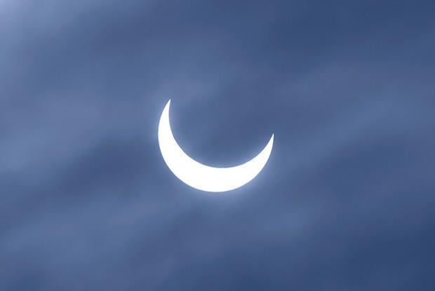 Éclipse partielle du Soleil