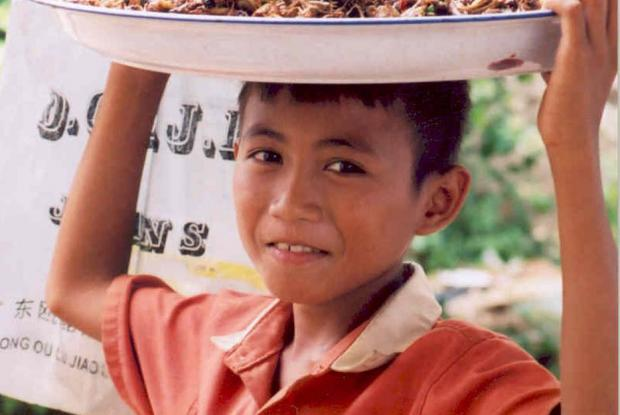 Marché public, Vietnam.