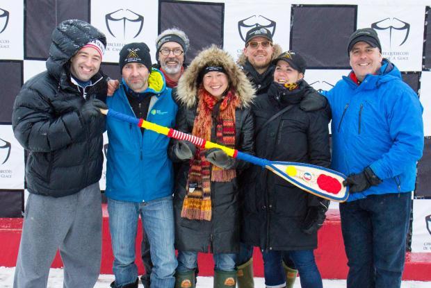 EPLV Ice Canoe Team