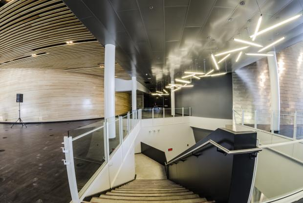 Intérieur du Planétarium Rio Tinto Alcan