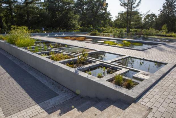Phytotechnologies at the Jardin botanique de Montréal - Filtering marshes