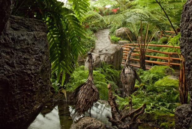 Sculpture in the Ferns Greenhouse