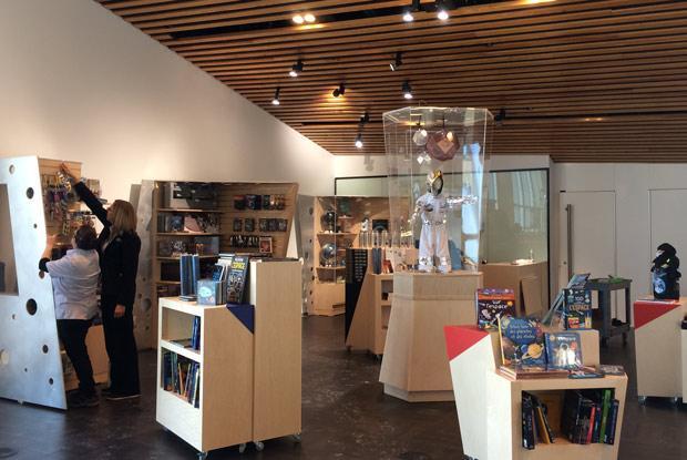 Rio Tinto Alcan Planetarium gift shop