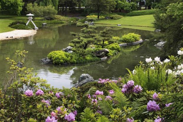 japanese garden space for life. Black Bedroom Furniture Sets. Home Design Ideas
