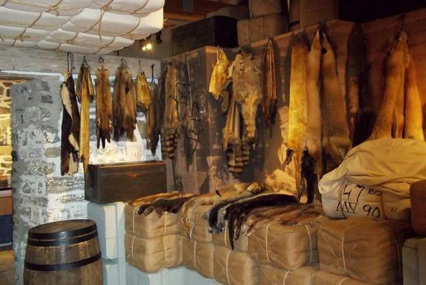 Historic site of the fur trade, Lachine