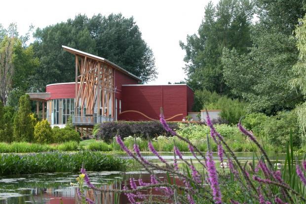 La Maison de l'arbre et l'étang.