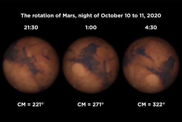 Mars rotation 20201010-11 AN