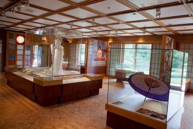Pavillon du jardin japonais espace pour la vie for Salle a manger japonaise