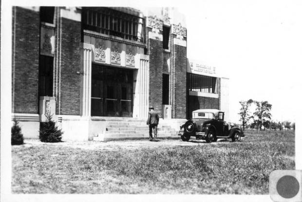 Pavillon administratif, 1936