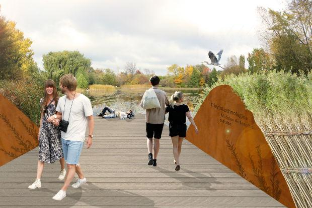 Le Parcours des phytotechnologies - La stabilisation des rives