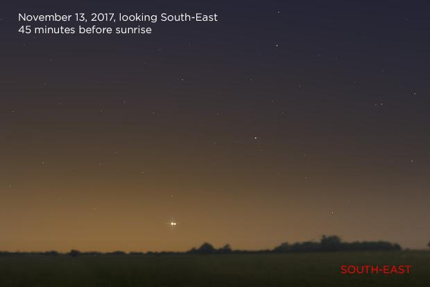 Venus and Jupiter 20171113