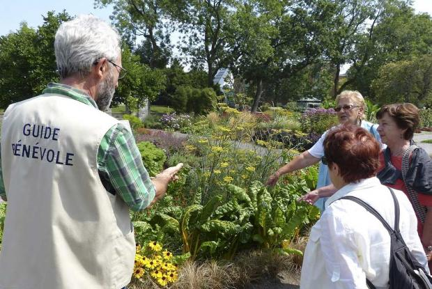 Guided Tours Of The Garden Space For Life