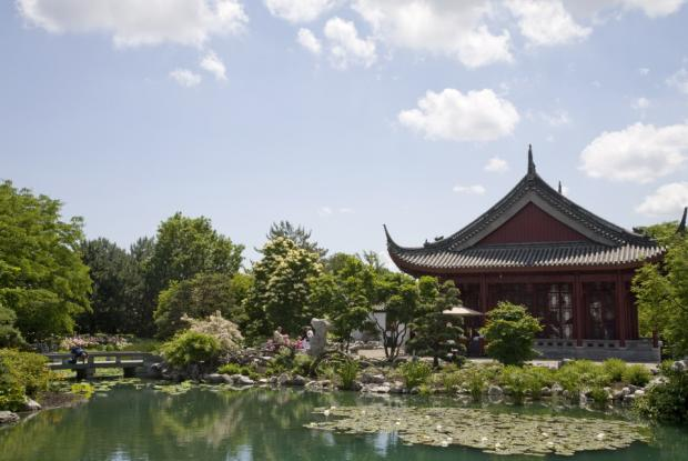 Chinese garden space for life for Camping le jardin botanique limeray