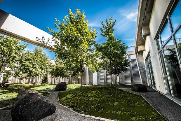 Rio Tinto Alcan Planetarium - Courtyard