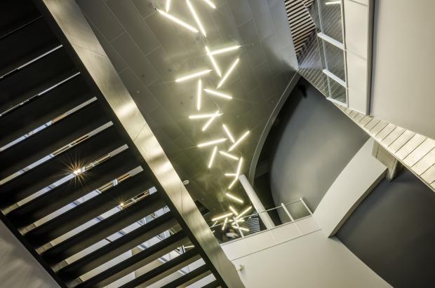 Interior of the Rio Tinto Alcan Planetarium