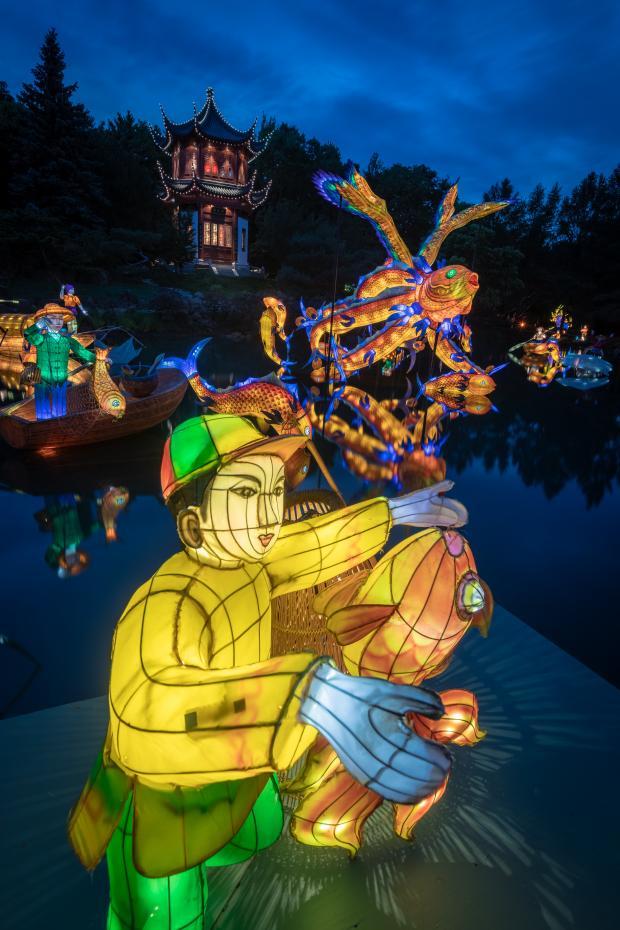 Gardens of Light - Chinese Garden