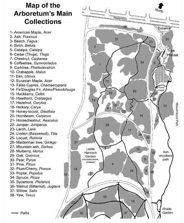 Map - Arboretum