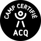 "The A.C.Q. ""certified camp"" logo"