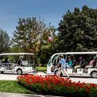 Mini-train: free shuttle service at the Jardin botanique de Montréal