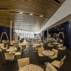 Dining area at the planetarium