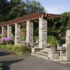 Fontaine d'eau potable au Jardin des vivaces.