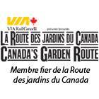 Route des jardins du Canada 2013